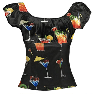 Women Tops Slim Off The Shoulder Short Sleeve