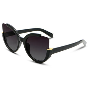 Vintage High Quality Brand Designer Cat Eye Sunglasses
