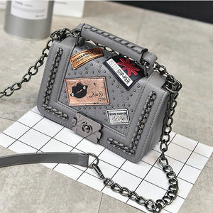 Chanel Inspired Punks Style Handbag