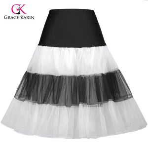 Vintage Colorful Rockabilly Petticoat
