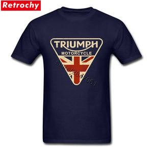 UK Triumph Motorcycle Vintage Tee Shirt