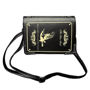 Retro Book Style Shoulder Bag