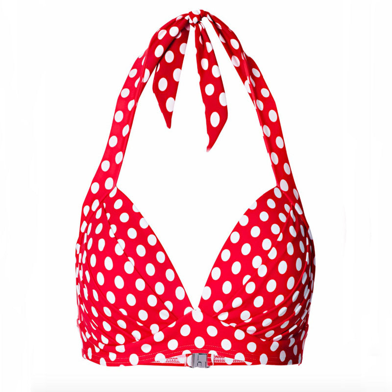 Halter Polka Dots Beach Wear