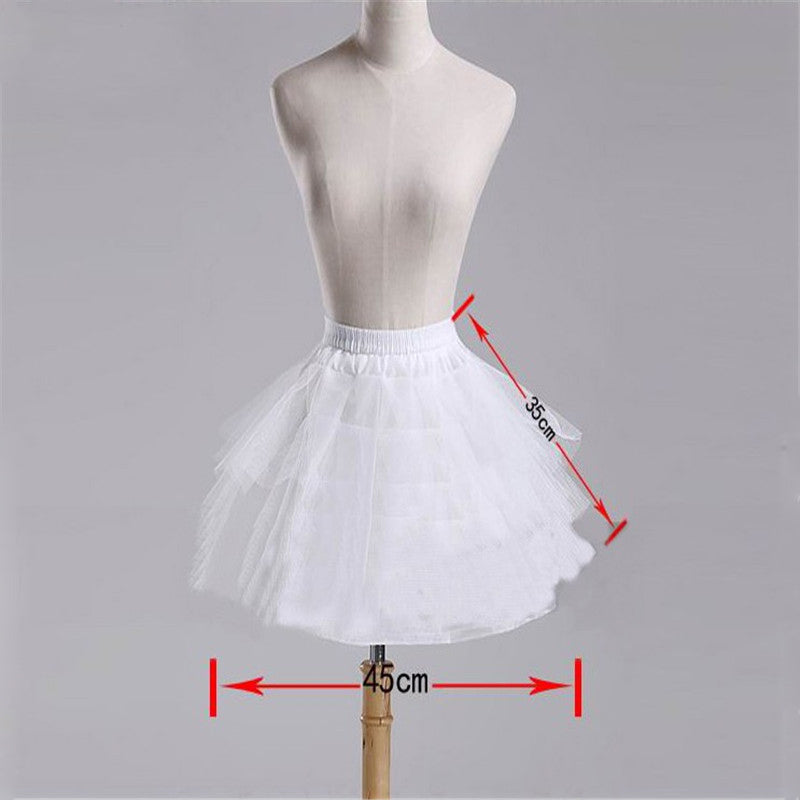Girls Petticoat Ballet Tutu Skirt