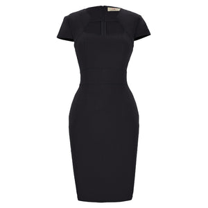 Casual Office Bodycon Pencil Midi Dress