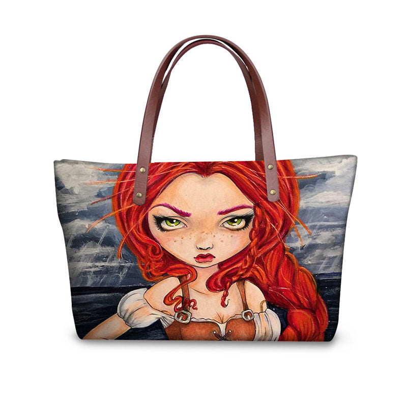 Gothic Girl Tote Bag