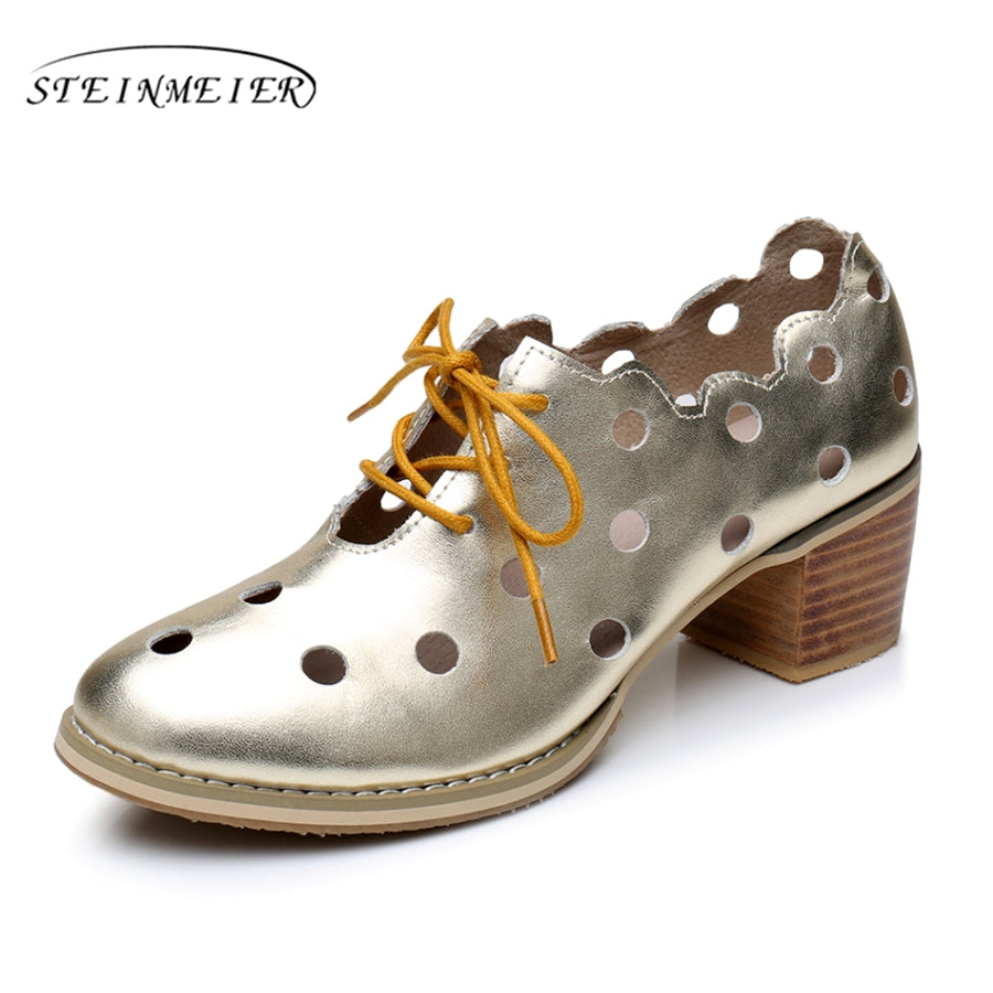 Vintage Lace Up Oxford Shoes