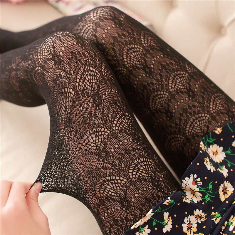 High Elastic Vintage Lace Pantyhose