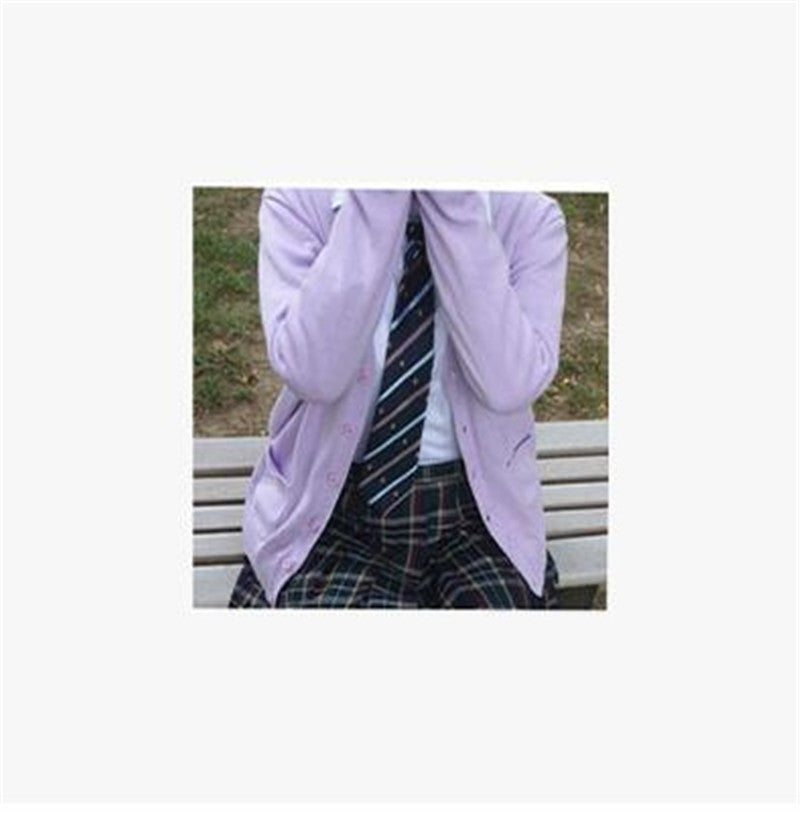 Japan School Cardigan School Uniform Knit Sweater