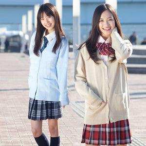 Japanese School Uniforms Cardigan