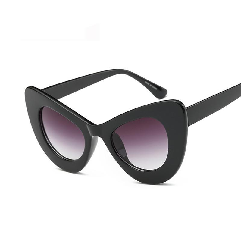 KEHU  New Popular Sexy Fashion Women Cat Eye sunglasses Inspired Retro Vintage Sun glasses K9246