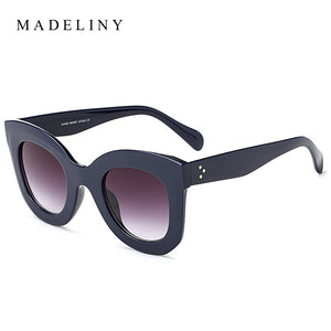 Vintage Gradient Cat Eye Sunglasses
