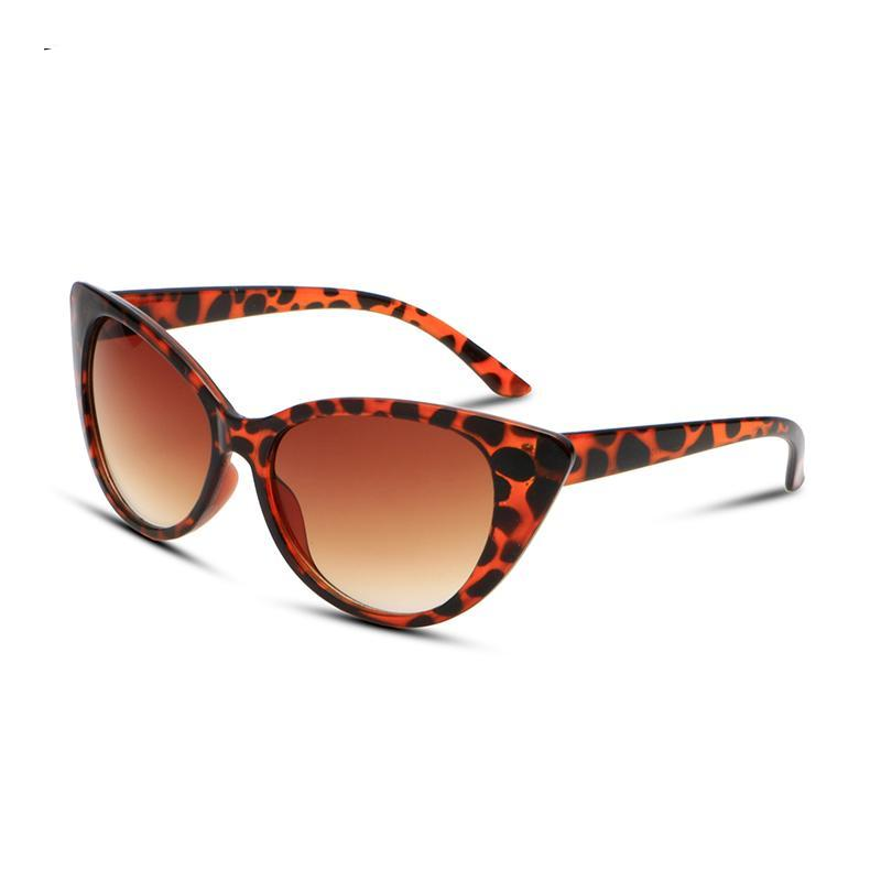 MAXMESSY Vintage Cateye Sunglasses Fashion Sexy Women Brand Designer Sunglass Retro Sun Glasses oculos de sol feminino AS021