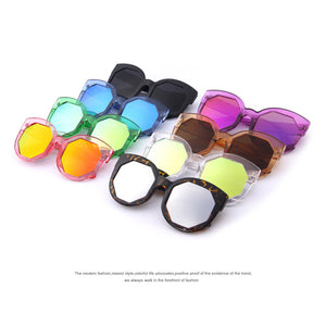 Polygon Lens Cat Eye Shade