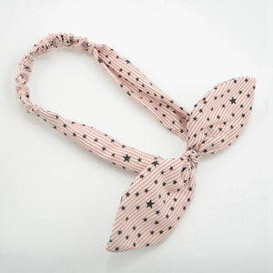 Small Star Print Stretchy Headband