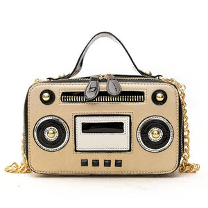 Retro Radio Shape Handbags