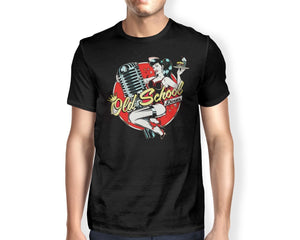 Rockabilly Old School Diner Rude Top Tee