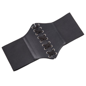 Lace Up Accessory Corset Accent Belt