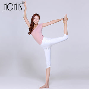 Cropped Cotton High Stretch Leggings
