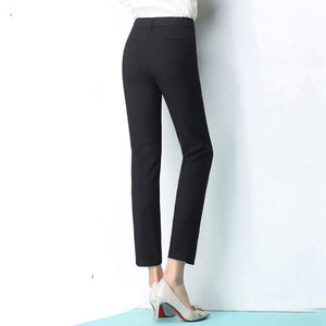 Black and Grey Suit Pencil Pants