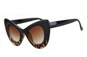 Elegant Oversized Cat Eye Sunglasses