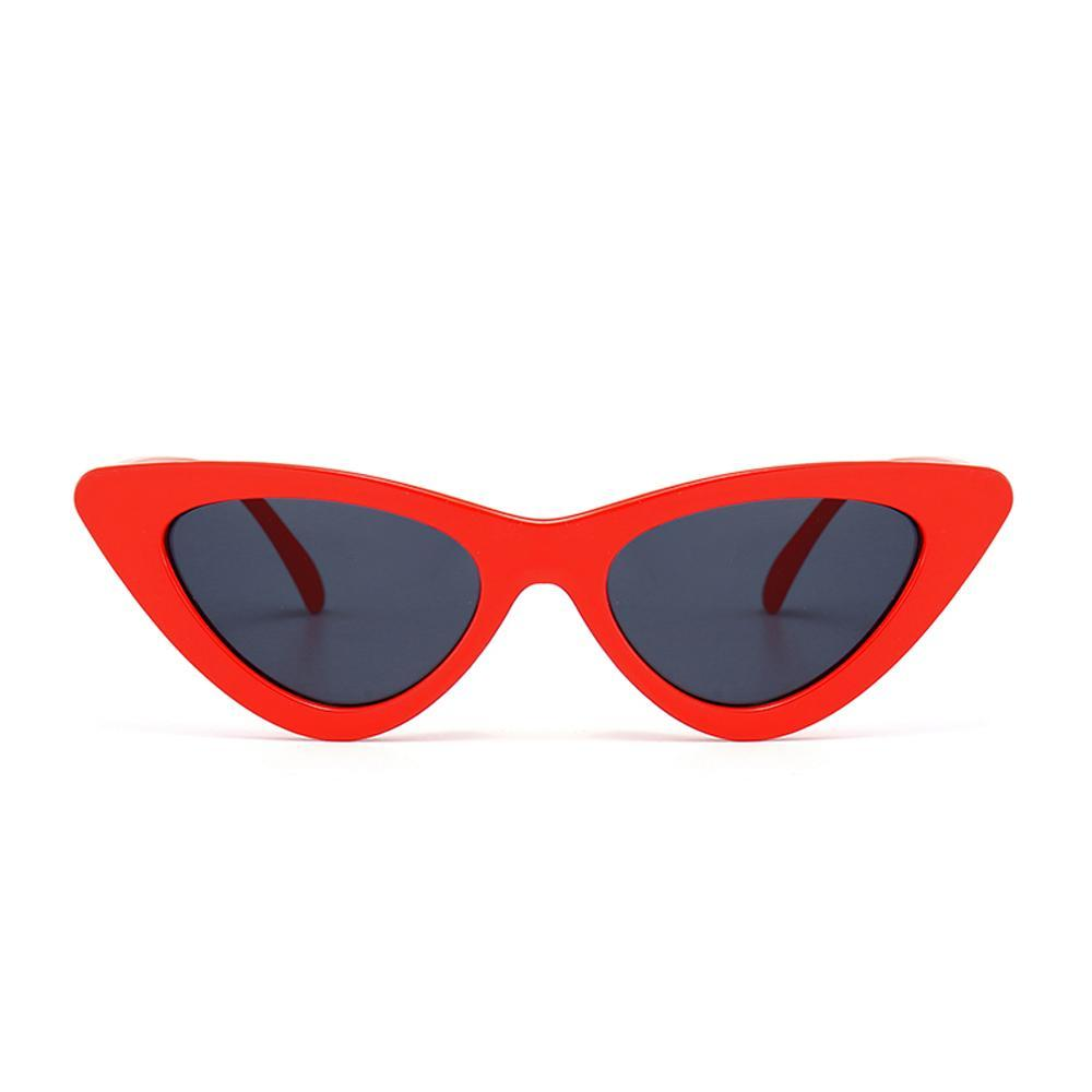 Cute Sexy Retro Triangle Cat Eye Sunglasses