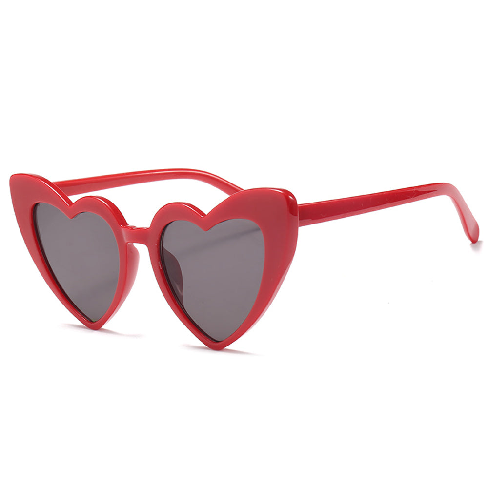 Vintage Classic Love Heart Sunglasses