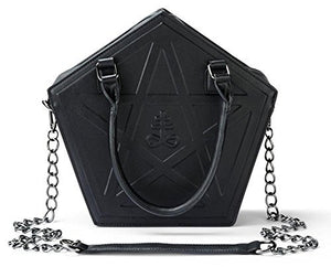 Punk Darkness Pentagram Handbag Chain