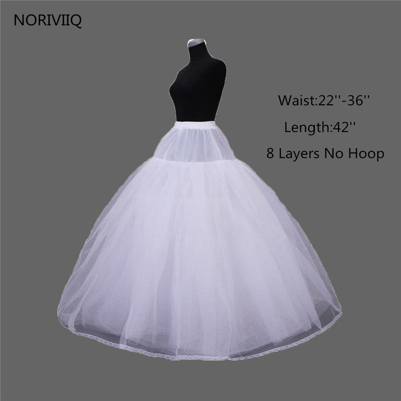 White Retro Rockabilly Swing Underskirt