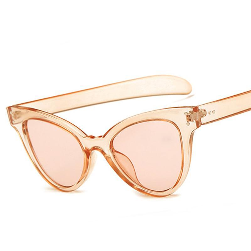 Candy Color Ladies Cat Eye Sunglasses