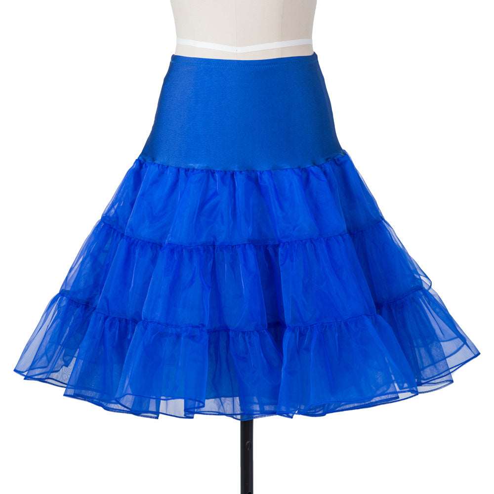 Women Vintage Dress Petticoat
