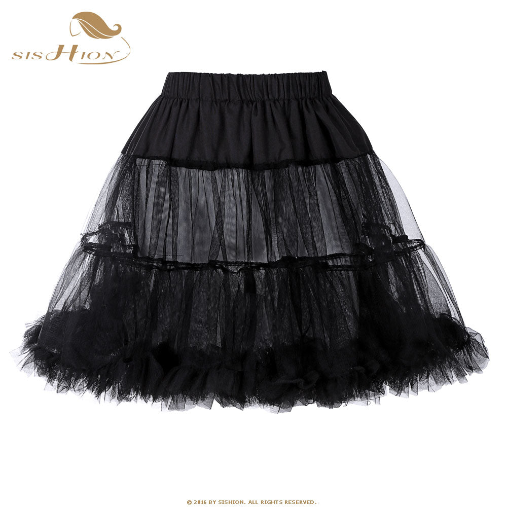 Mini Retro Rockabilly Underskirt