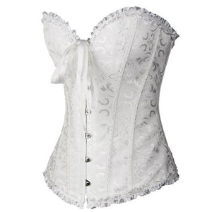 Overbust Gothic Strapless Corset