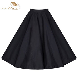 1940s Retro Swing Rockabilly Skirt