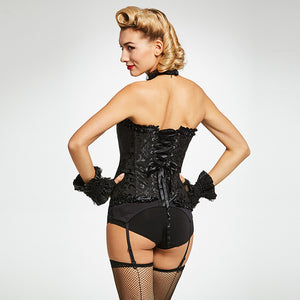 Vintage Gothic Lace Up Corset