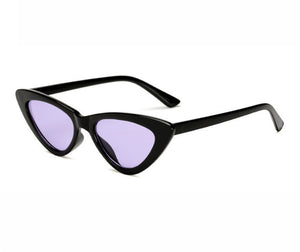 Small Cateye Triangle Sunglasses