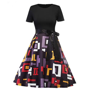 Summer Retro 50s Midi Pinup Rockabilly Party Dresses