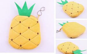 Super Kawaii Pineapple Pendant Coin Purse