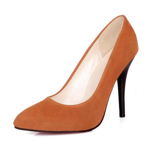 Elegant Fashion High Heels Slip-on Shoes Heeled