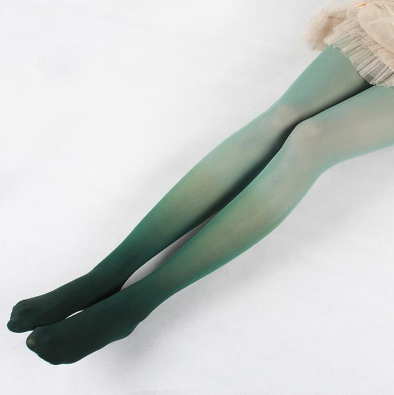 Vintage Gradient Pantyhose Stockings