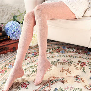 Thin Lace Hollow Tights Sexy Stockings