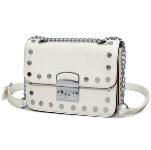 Black and White Lady Satchels