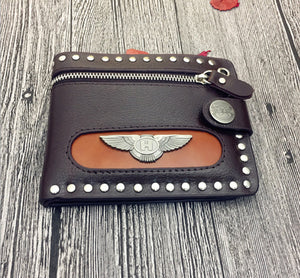 Punk Rock Wallet for Men
