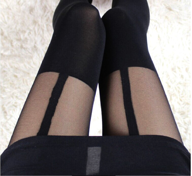 Vintage Tights Bow Pantyhose
