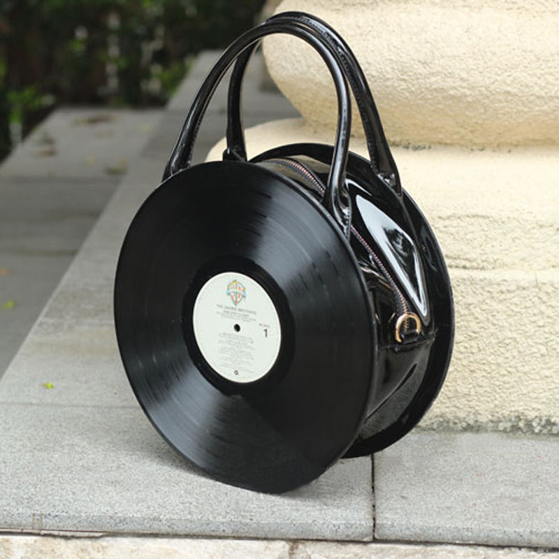 Women Lolita Dick Fashion Black Bags Shoulder Bags Totes Soft Handle Zipper Vintage Retro Punk Creative 2017 PU Faux Leather