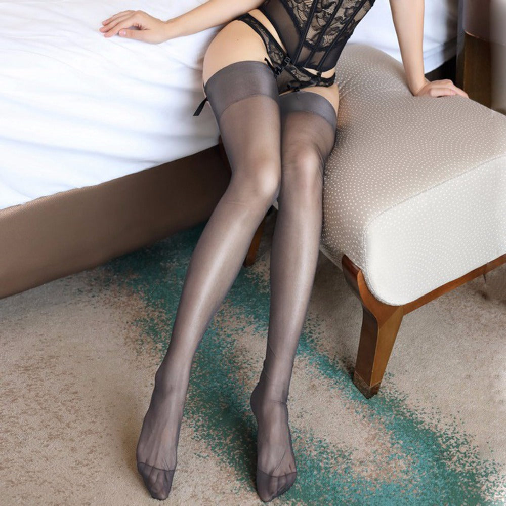 Sexy Thigh High Garter Stockings