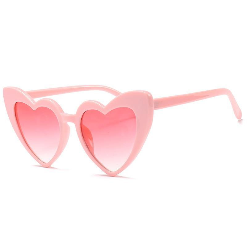 Vintage Fashion Love Heart Sunglasses