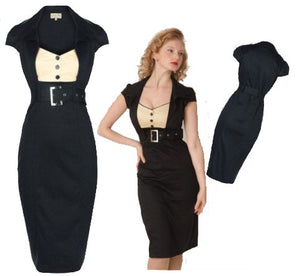 free shipping new classy classy  vintage 1950's rockabilly pinup swing pencil wiggle dress