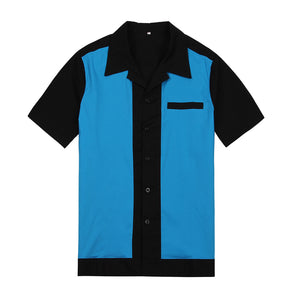 Men's Rockabilly 1950's Style Work Shirts