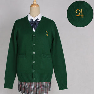 Sailor Moon Embroidered Sweater Jacket